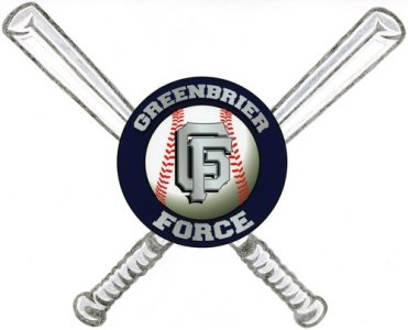 Greenbrier Force Baseball Custom Shirts & Apparel